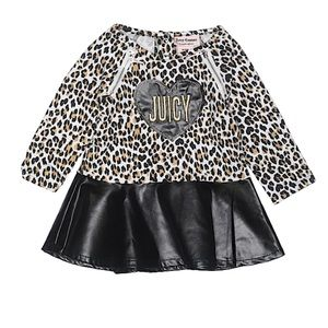 🎀 Juicy Couture 🎀 Leopard peplum 🎀